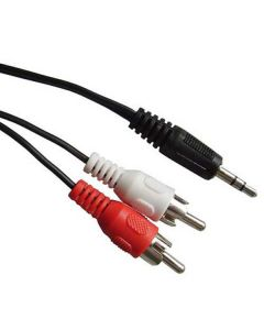 Audio Cable - 3.5mm to RCA Stereo